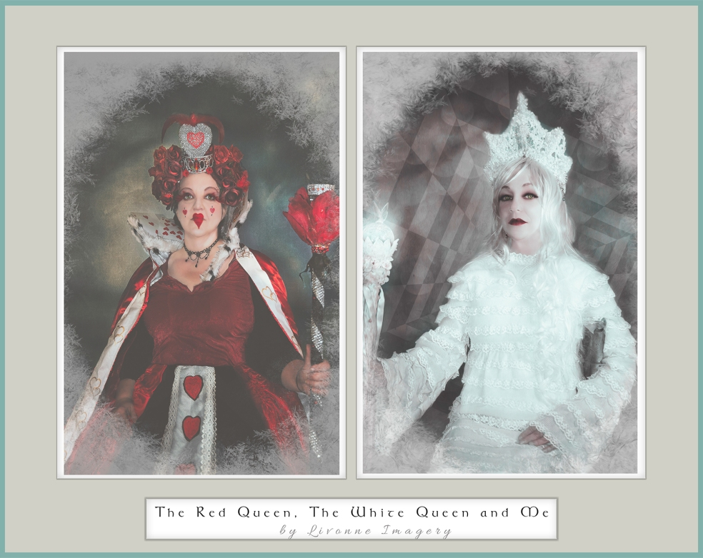 red queen, white queen and me